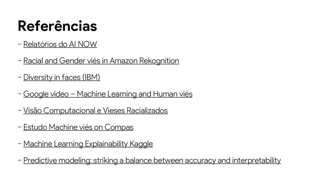 Referências − Relatórios do AI NOW − Racial and...