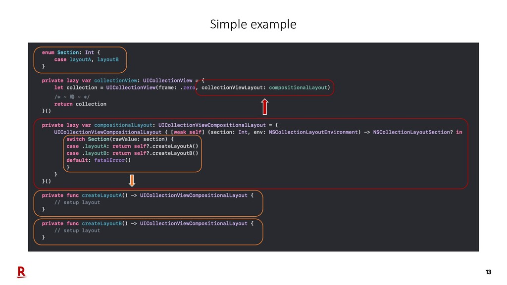 13 Simple example