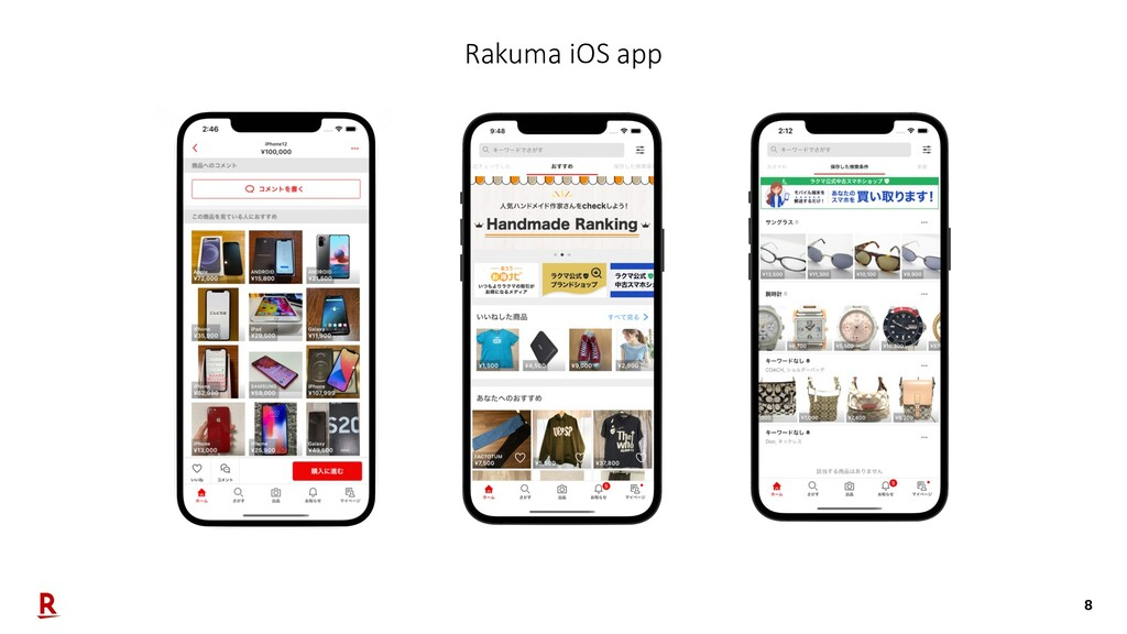 8 Rakuma iOS app