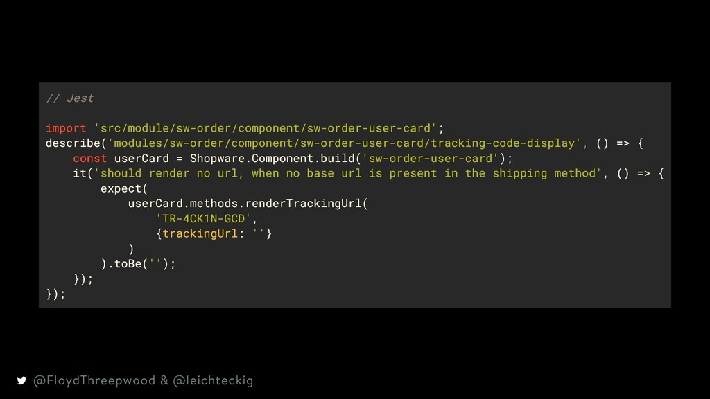 // Jest import 'src/module/sw-order/component/s...