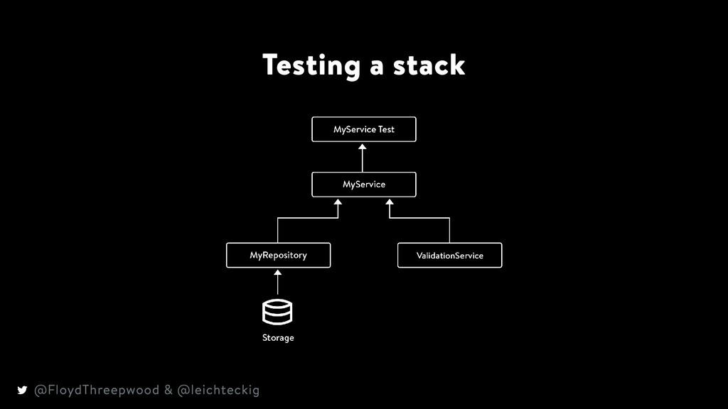 Testing a stack @FloydThreepwood & @leichteckig