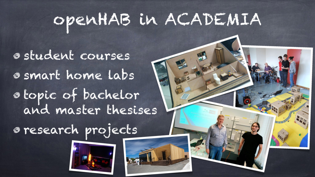 openHAB in ACADEMIA student courses smart home ...