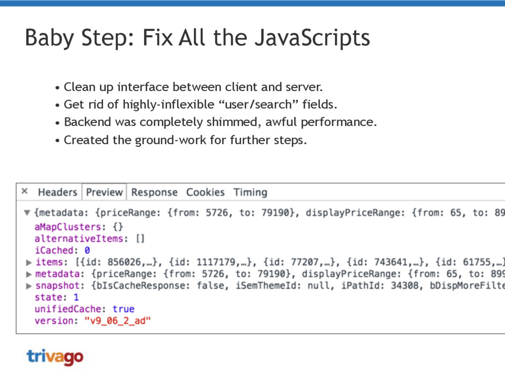 Baby Step: Fix All the JavaScripts • Clean up i...