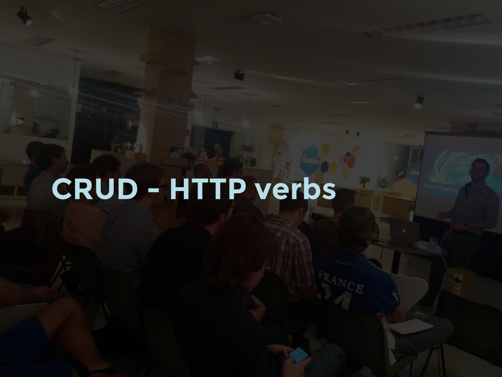 CRUD - HTTP verbs