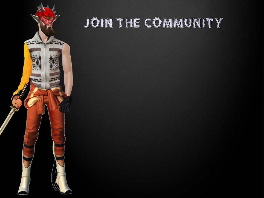 JOIN THE COMMUNITY JOIN THE COMMUNITY