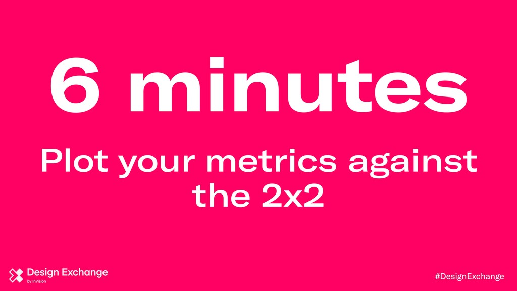 #DesignExchange 6 minutes Plot your metrics aga...