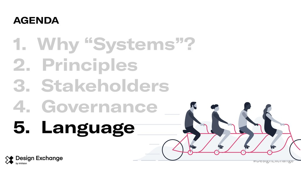 "#DesignExchange 1. Why ""Systems""? 2. Principles..."