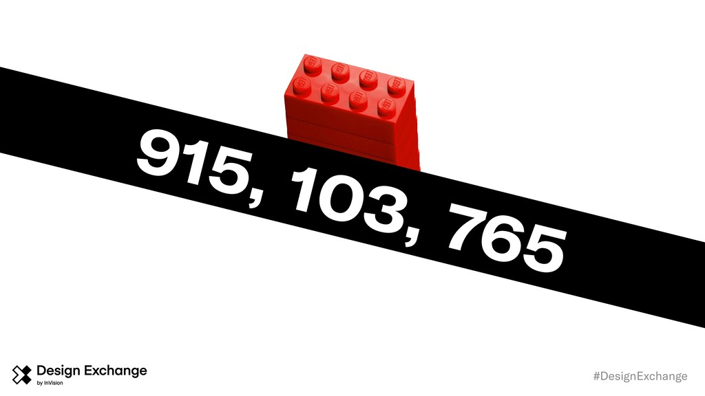#DesignExchange 915, 103, 765