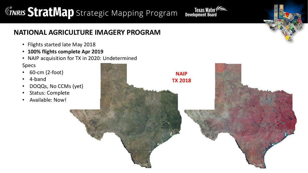 NATIONAL AGRICULTURE IMAGERY PROGRAM • Flights ...
