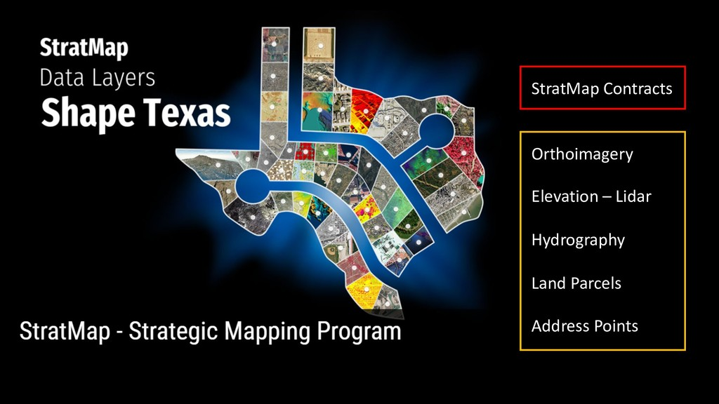 StratMap Contracts Orthoimagery Elevation – Lid...