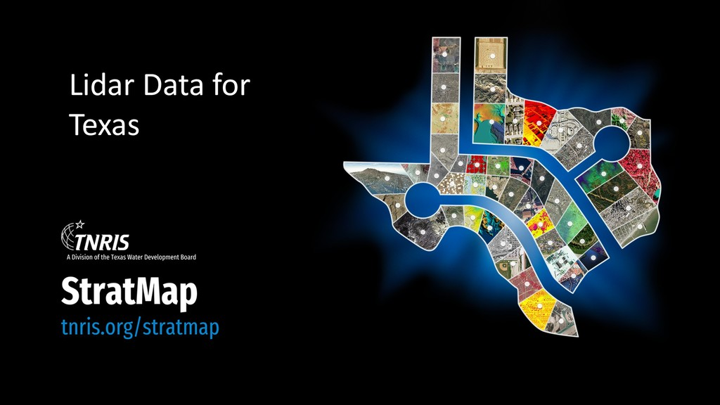 Lidar Data for Texas