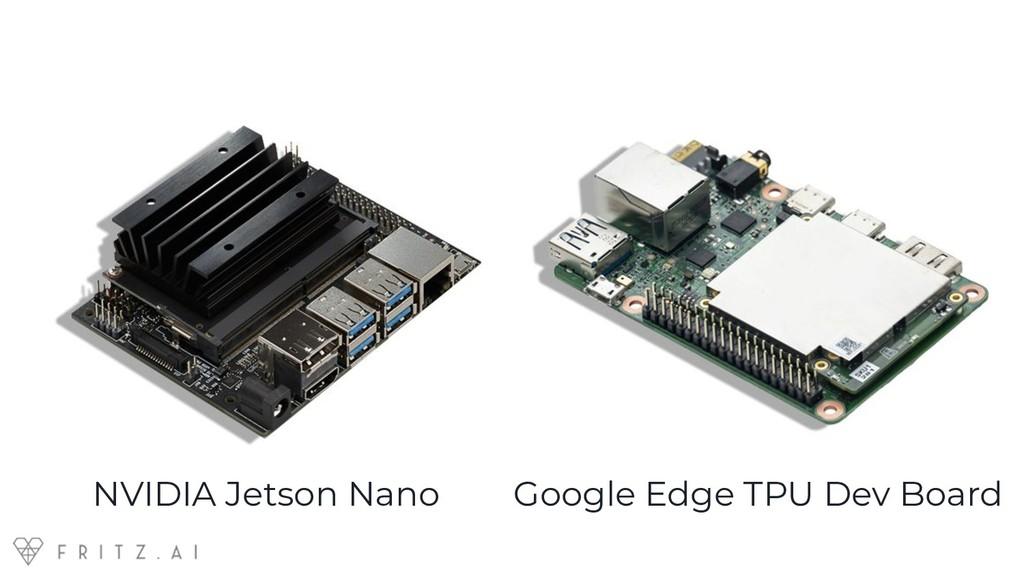Google Edge TPU Dev Board NVIDIA Jetson Nano