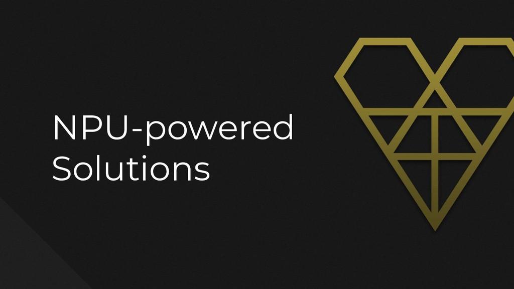 NPU-powered Solutions