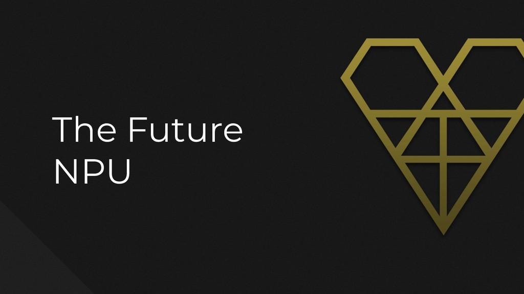 The Future NPU