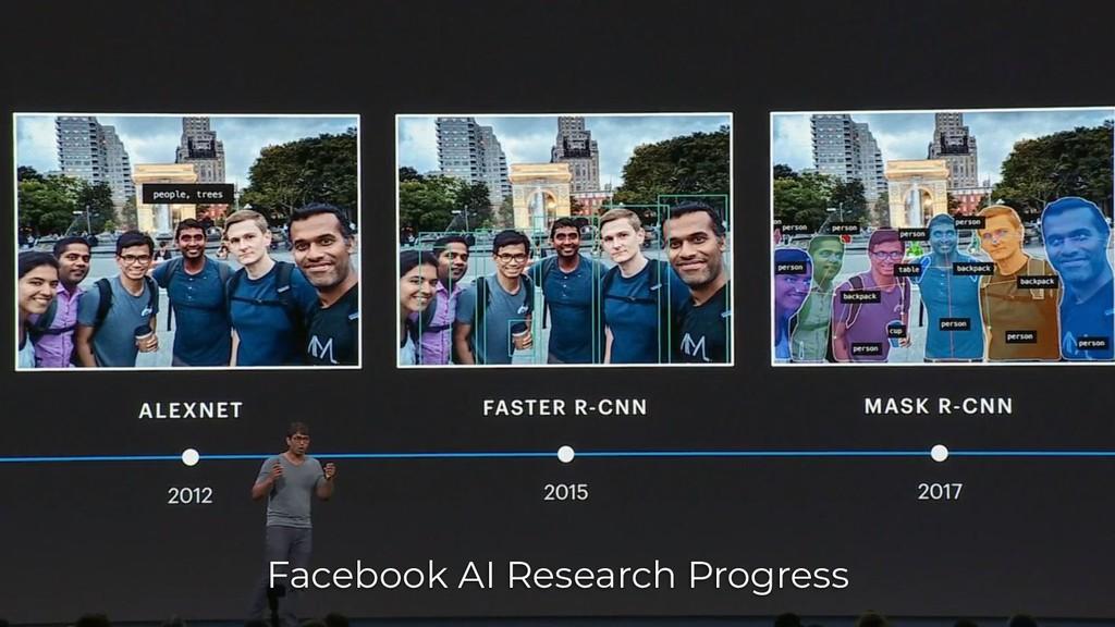 Facebook AI Research Progress