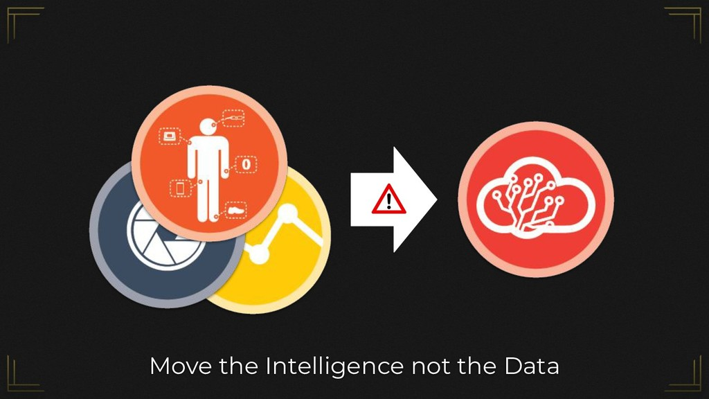 Move the Intelligence not the Data