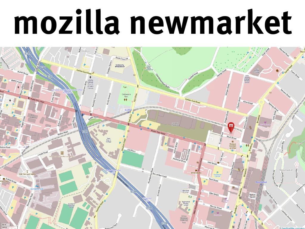mozilla newmarket