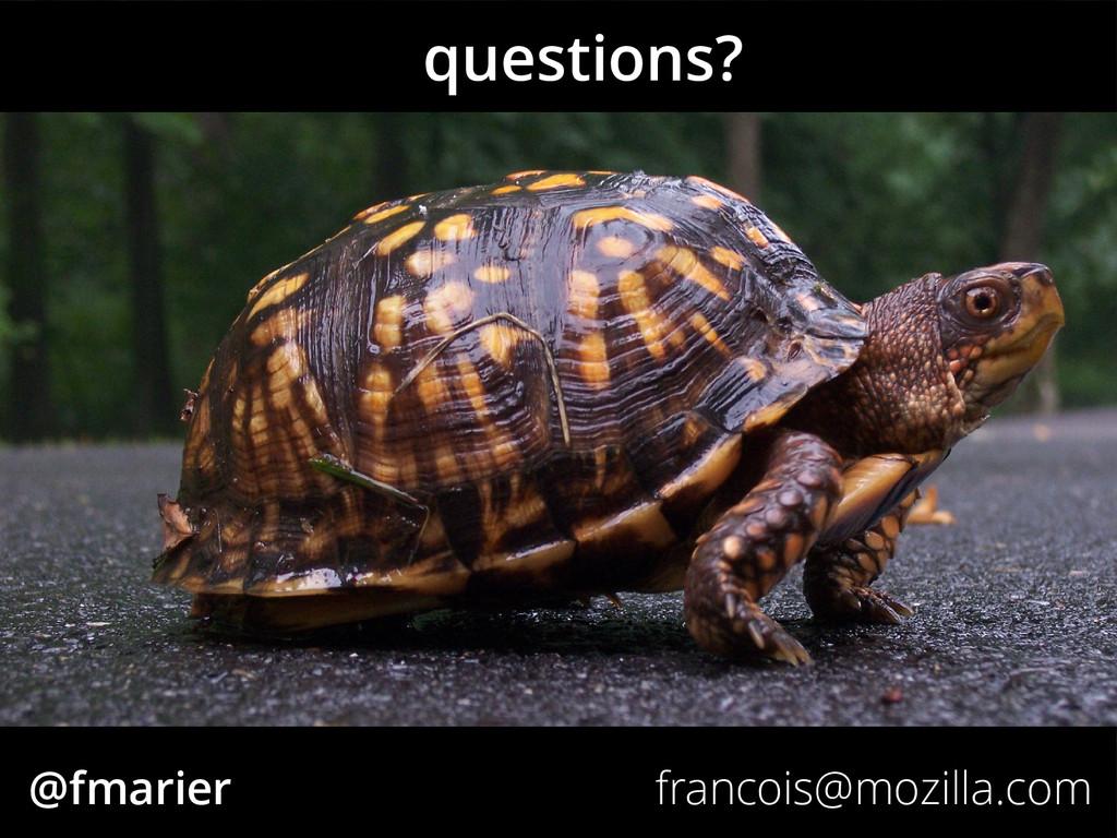 @fmarier francois@mozilla.com questions?