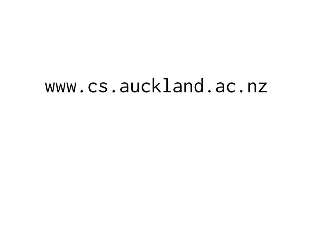 www.cs.auckland.ac.nz