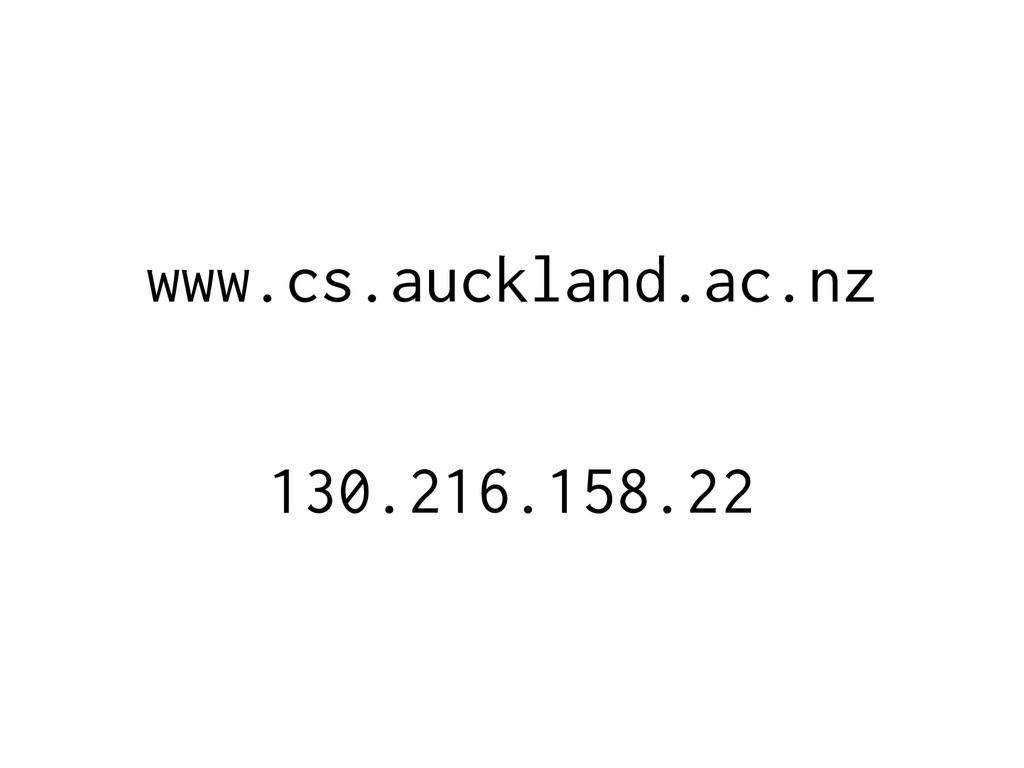 www.cs.auckland.ac.nz 130.216.158.22