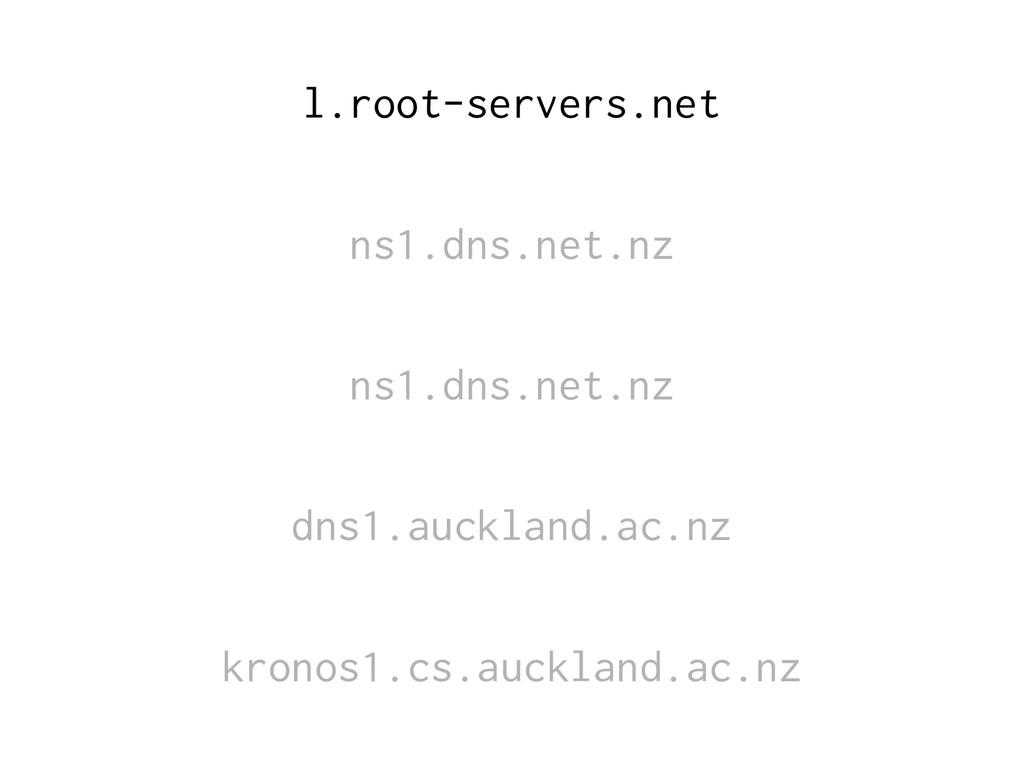 l.root-servers.net ns1.dns.net.nz ns1.dns.net.n...