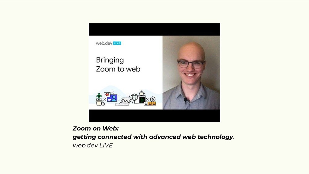Zoom on Web: getting connected with advanced we...