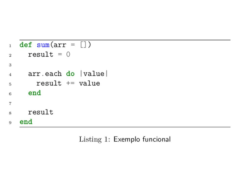 1 def sum(arr = []) 2 result = 0 3 4 arr.each d...