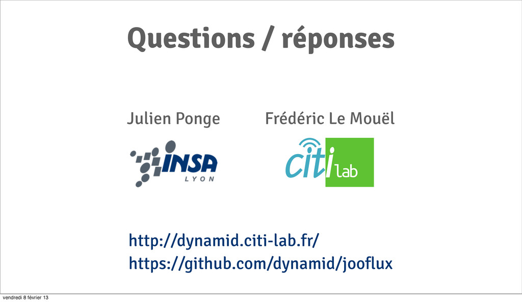 111 https://github.com/dynamid/jooflux Question...