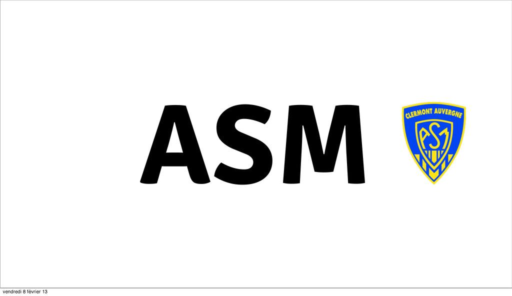 ASM 41 vendredi 8 février 13