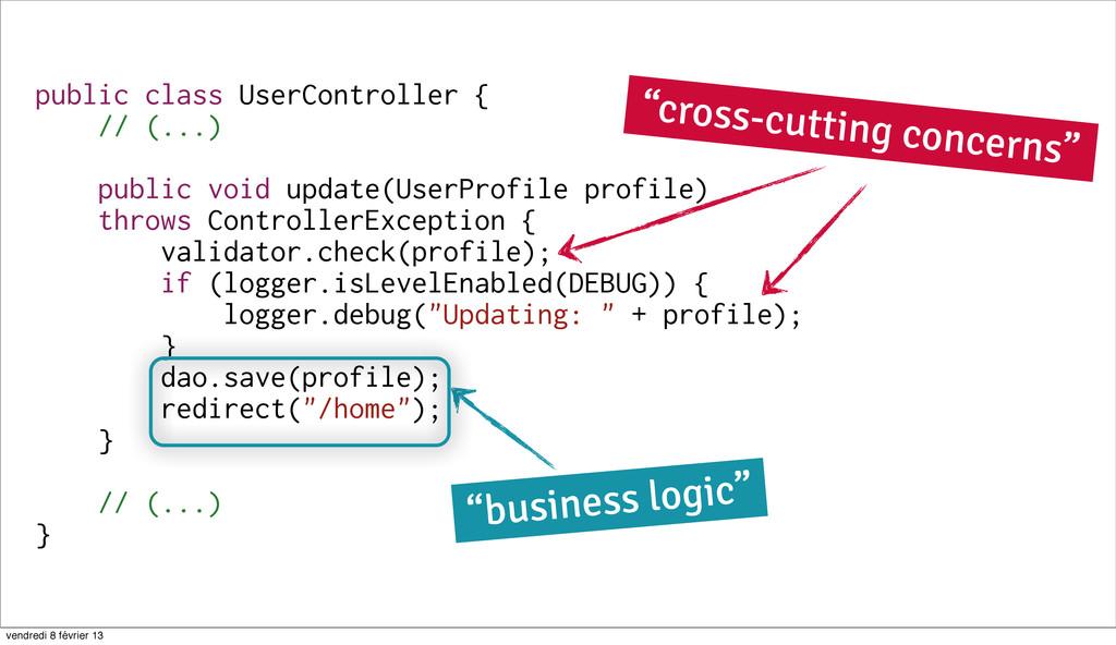 59 public class UserController { // (...) publi...