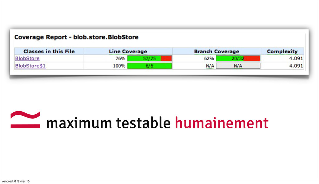78 maximum testable humainement ≃ vendredi 8 fé...