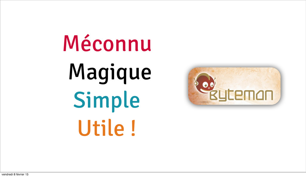 Méconnu Magique Simple Utile ! 84 vendredi 8 fé...
