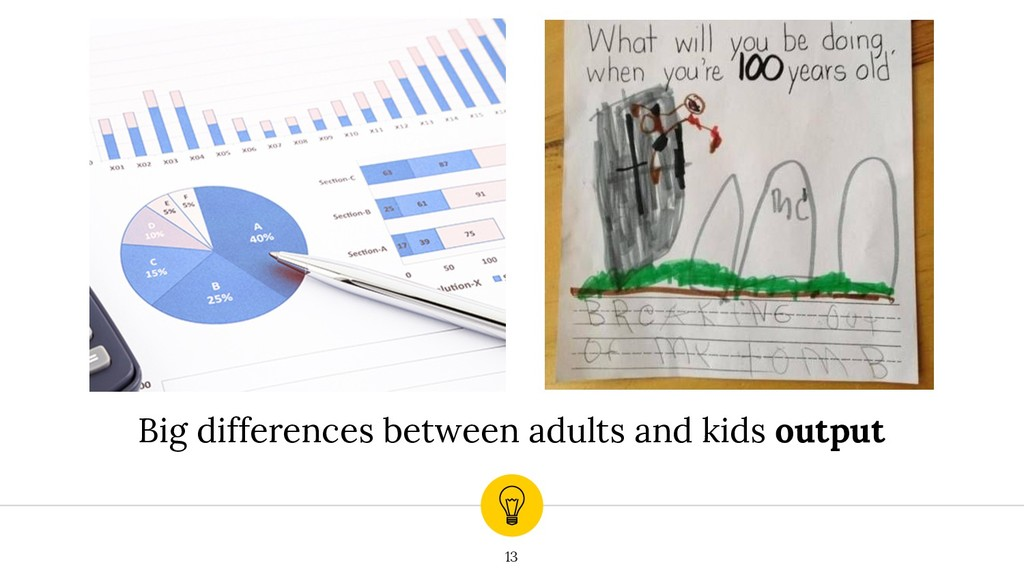 13 Big differences between adults and kids outp...
