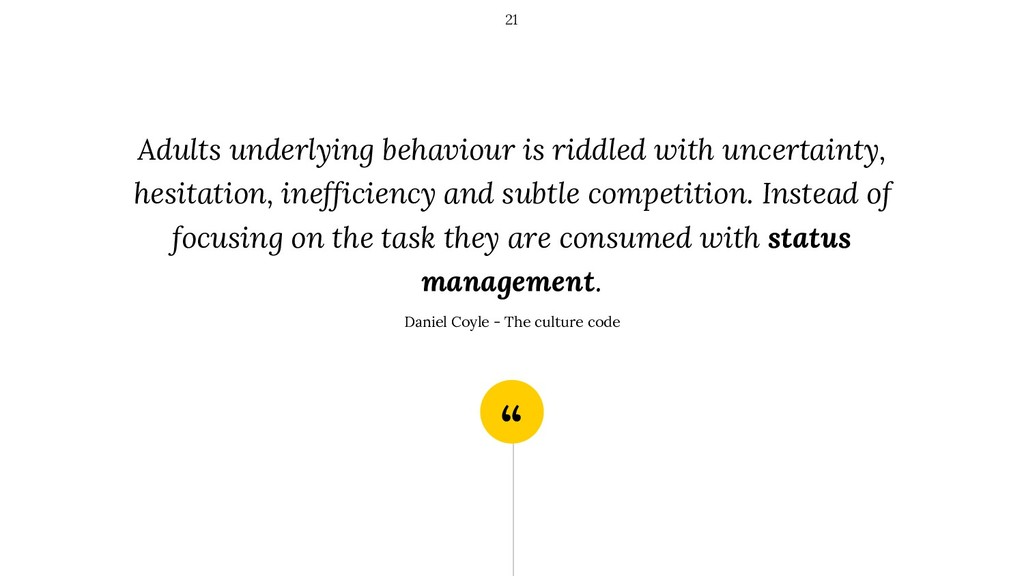 """"""" Adults underlying behaviour is riddled with u..."""