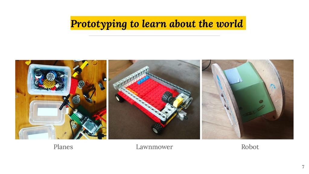 Prototyping to learn about the world 7 Planes L...