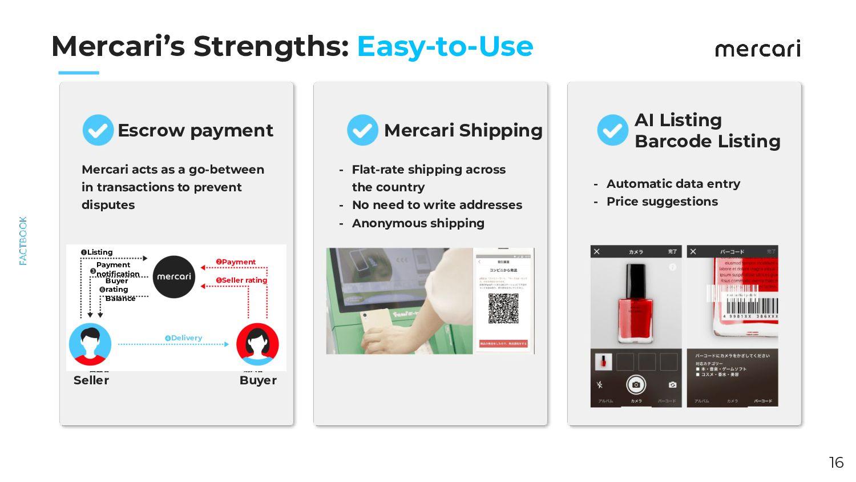 Mercari's Strengths: Easy-to-Use 16 Mercari Pos...