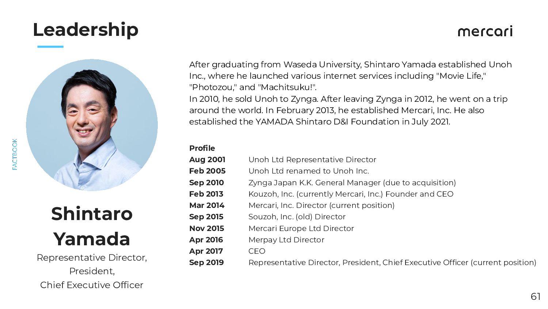 Leadership (Senior Vice President) After gradua...