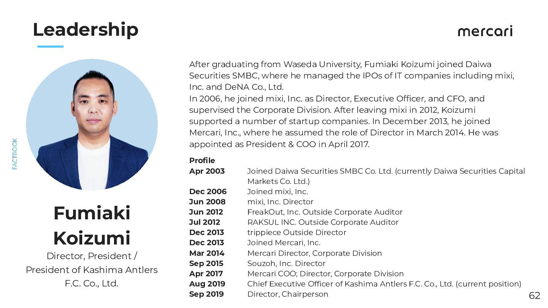 Leadership (Souzoh) Yuki Ishikawa Souzoh, Inc. ...