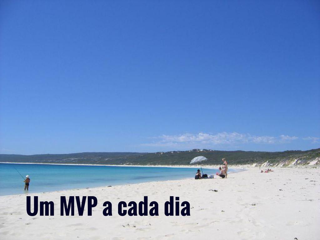 Um MVP a cada dia