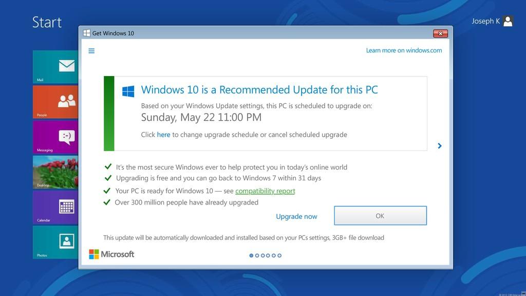 Get Windows 10 Upgrade to Windows 10 Upgrading ...