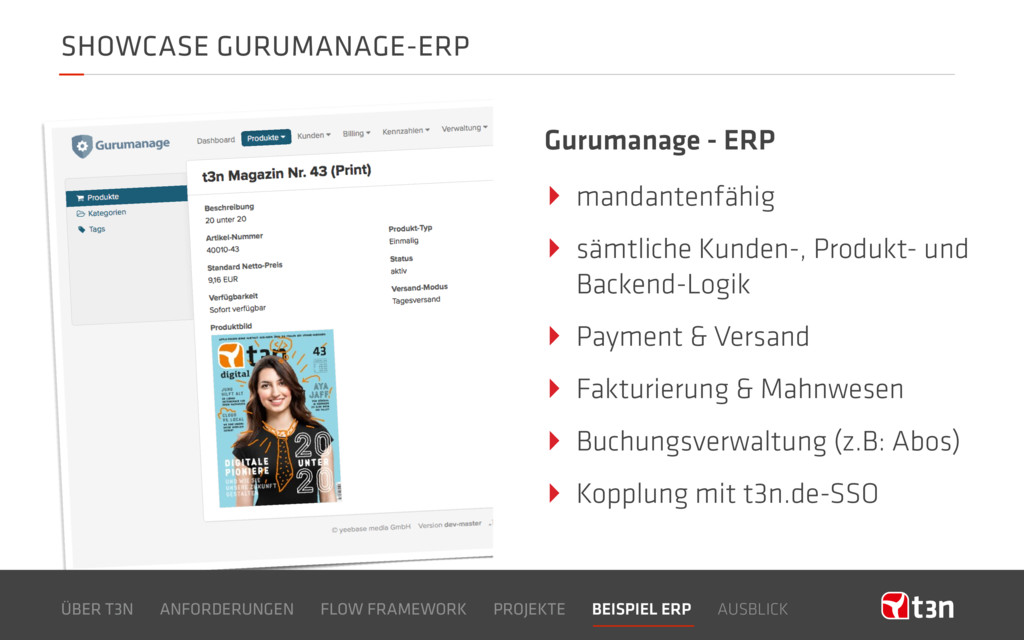SHOWCASE GURUMANAGE-ERP Gurumanage - ERP ‣ mand...