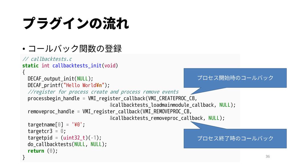 // callbacktests.c static int callbacktests_ini...