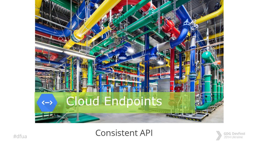 #dfua Consistent API Cloud Endpoints