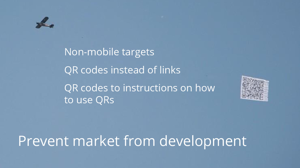 #dfua Prevent market from development Non-mobil...