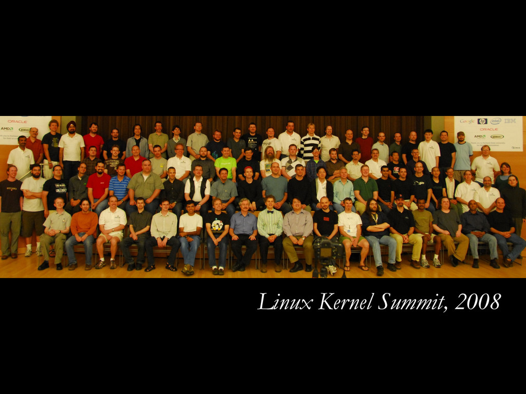 Linux Kernel Summit, 2008