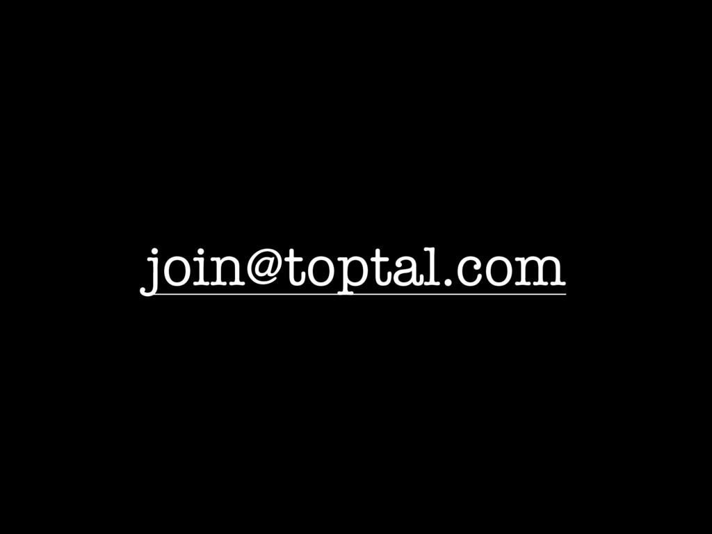 join@toptal.com