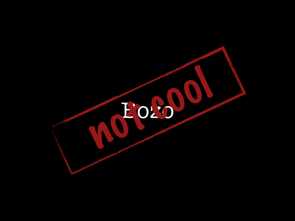 Bozo not cool