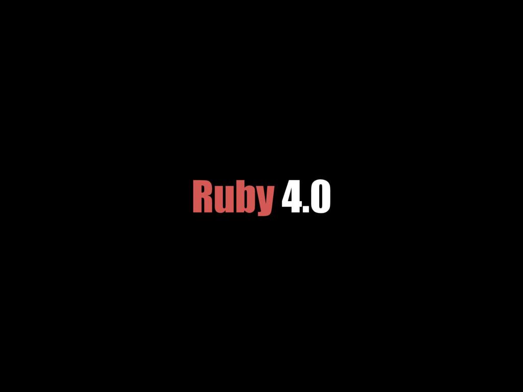 Ruby 4.0