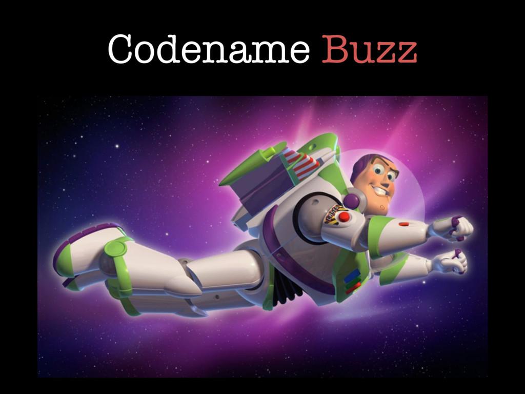 Codename Buzz
