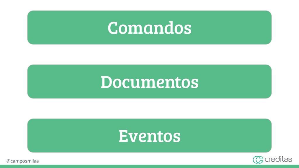 @camposmilaa Comandos Documentos Eventos